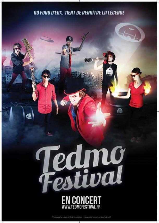 affiche tedmo festival