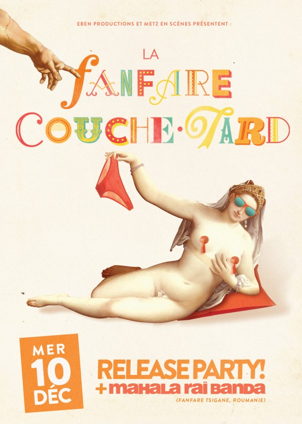 la fanfare couche tard nouvel album et release party