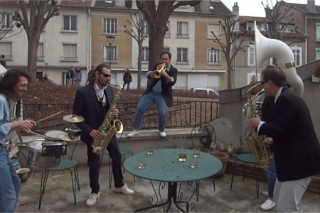 Initiales Brass Band video dr jekyll reprises gainsbourg en fanfare