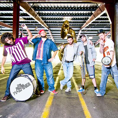 the brass machine photo de profil groupe funk new orleans brass band du catalogue roster eben productions