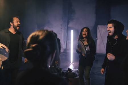 barrut picture from music video l'erba d'agram