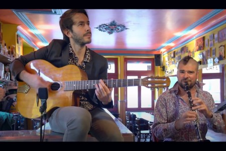 Hot Club de Boukravie : the Flying Orkestar acoustic version, swing acoustic from Boukravie