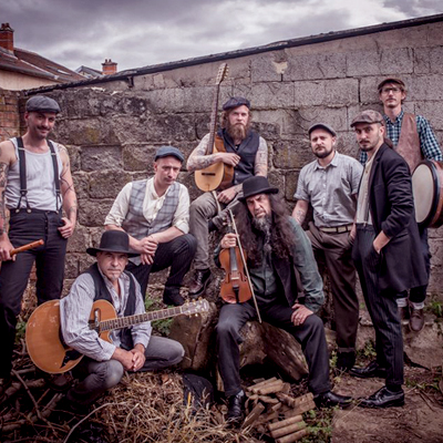 The Celtic tramps celtic folk traditional french band Acoustic and stage all audiences