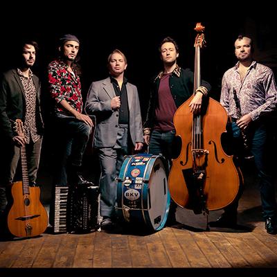 hot club de boukravie acoustic swing band